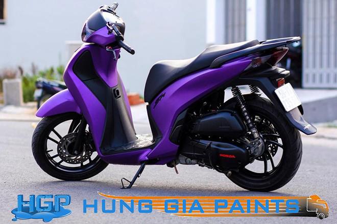 Cách sơn nhám xe máy